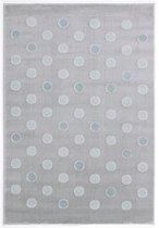 Livone Tapijt 120 cm x 180 cm Happy Rugs Confetti Grijs - Munt