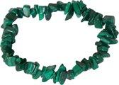 Malachiet edelsteen splitarmband - Gems and Giftshop