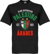 Palestino Established T-Shirt - Zwart - XL