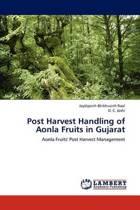 Post Harvest Handling of Aonla Fruits in Gujarat