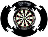 Harrows 4 stukken Dartbord Surround Ring - Zwart