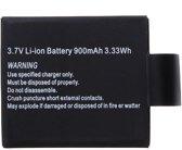 3.7V 900mAh Li-ion Battery for Car Sports Camera DVR DV SJ4000 SJ5000 M10