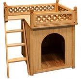 Not specified Hondenhok met balkon en trap