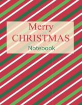 Merry CHRISTMAS Notebook: Holiday Journal with Christmas Planner Organize, Planning