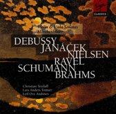 Debussy, Janacek, Nielsen, Ravel, Schumann, Brahms: Violin & Viola Sonatas