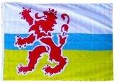 PartyXplosion - Limburgse vlag leeuw - 90x150cm