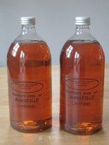 Vloeibare Marseille zeep  2 L Lavendel