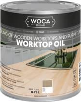 Woca Werkbladolie Grijs - 0,75 liter