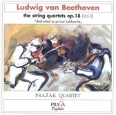 Beethoven: String Quartets Op 18 Vol 2 / Prazak Quartet