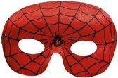 Spinnenheld masker rood
