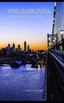Philadelphia Monthly Note Planner 2019 1 Year Calendar