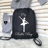 Tas My ballet bag.