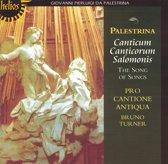 Palestrina: Canticum Canticorum Salomonis / Turner, et al