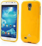 Mercury Color Silicone hoesjes Samsung Galaxy S4 geel