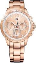 Tommy Hilfiger TH1781642 horloge dames - ros� - edelstaal PVD ros�