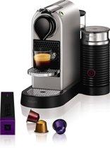 Nespresso Krups CitiZ & Milk XN760B - Silver