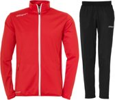 Uhlsport Essential Classic  Trainingspak - Maat M  - Mannen - rood/zwart
