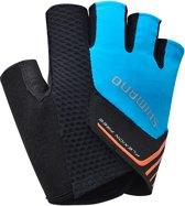 Shimano Escape Fietshandschoenen - Unisex - blauw/ zwart/ oranje