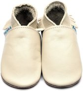 Inch Blue babyslofjes moccasin cream maat XL (14,5 cm)