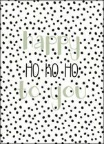 Fabs World ansichtkaart 'Happy HoHoHo'