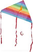 relaxdays Vlieger - 1 lijns vlieger - eenlijner - kite - stuntvlieger - delta vlieger A