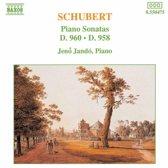 Schubert: Piano Sonatas D 960 & 958 / Jeno Jando