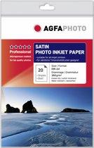 A4 AgfaPhoto Foto Papier 260gr. 20v. Satijn