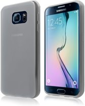 Samsung Galaxy S6 (G920 TPU Back Case Hoesje Siliconen Licht Grijs