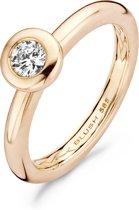 Blush Ring 1113RZI - Rosé Goud (14Krt.) met Zirconia