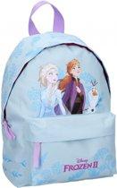 Frozen II Find the Way   PVC Free Kinderrugzak - 6,1 l - Blauw
