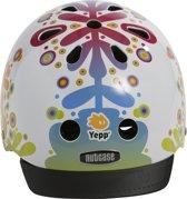 GMG Yepp Nutcase Helm Floral S (52-56cm) wit 070104