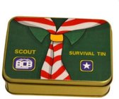 Bushcraft New Scout Survival Tin