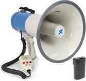 Megafoon - Vonyx MEG065 - Megafoon 65W met herlaadbare accu, MP3 op USB/SD, opnamefunctie en externe microfoon