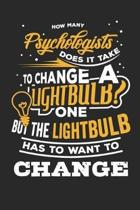 How Many Psychologists Does It Take to Change a Lightbulb? One But the Lightbulb Has to Want to Change