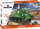 COBI Small Army World of Tanks - M4 SHERMAN (3007A)
