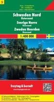 FB Zweden, blad 5 Noord • Östersund