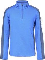Icepeak Robin Thermo Shirt 1/2 Zip baselayer  Sportshirt performance - Maat 140  - Unisex - blauw