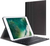Magnetically Detachable / Wireless Bluetooth Keyboard hoes met toetsenbord voor Apple iPad (2018) / Air 1 / 2 / iPad Pro 9.7 inch / iPad 2017 - Zwart