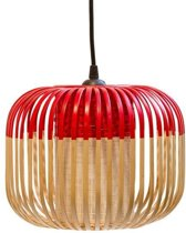 Forestier Bamboo Light Hanglamp Extra Small Rood