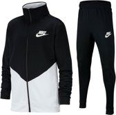 Nike Core Futura Trainingspak Junior Trainingspak - Maat L  - Unisex - zwart/wit Maat 152-158