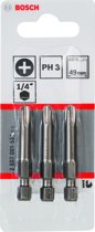 Bosch - XH-TORS/PH3/49MM - 3 stuks