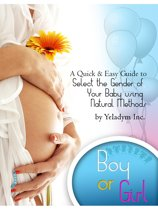 Select The Gender of Your Baby Using Natural Methods