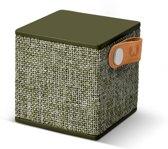 Fresh 'n Rebel Rockbox Cube Fabriq - Draadloze Bluetooth Speaker - Groen