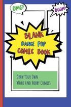 Blank Dance Pop Comic Book