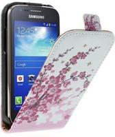 Flip case pink plum Samsung Galaxy Galaxy mini 2