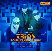 Trios For Flute: Rorem, Crumb