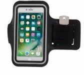 iPhone 6 / 6s / 7 Sport Armband Hardloop Hoesje - Zwart