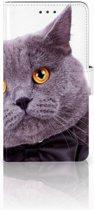Huawei Honor 5X Uniek Telefoonhoesje, met Kat Design