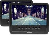Nikkei NPD720MT Portable DVD speler met 2 ingebouwde DVD-spelers - 2 schermen