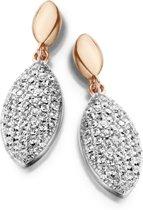 Velini jewels -EA6454R -Oorbellen -925 Zilver rosé -Cubic Zirkonia